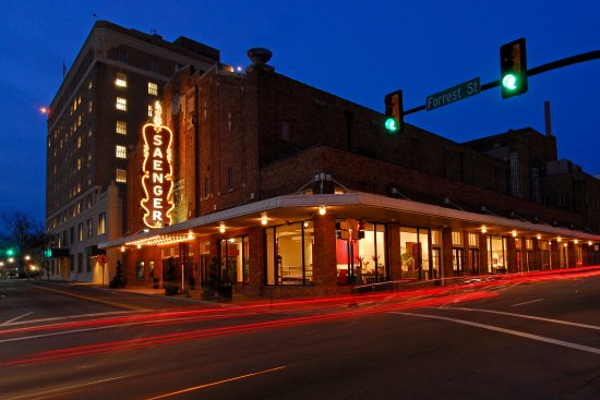 Hattiesburg, MS: Historic Saenger Theater opened in 1929.