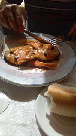 Penaranda de Bracamonte, Spain: Everyone liked their food