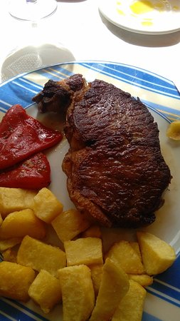 Penaranda de Bracamonte, Spain: Very good steak
