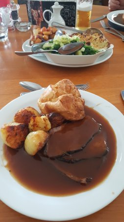 The Manor Hotel: Main course