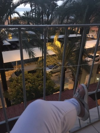 Hotel el Palmeral: Beautiful views from room 310 lovely room with big balcony. Spotlessly clean modern hotel, pleas