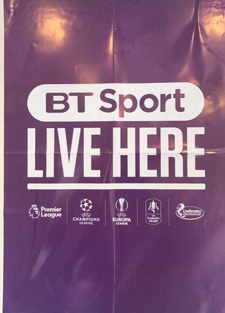 The Black Horse: BT Live Sports