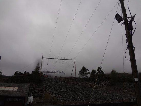 Blaenau Ffestiniog, UK: Cloudy!