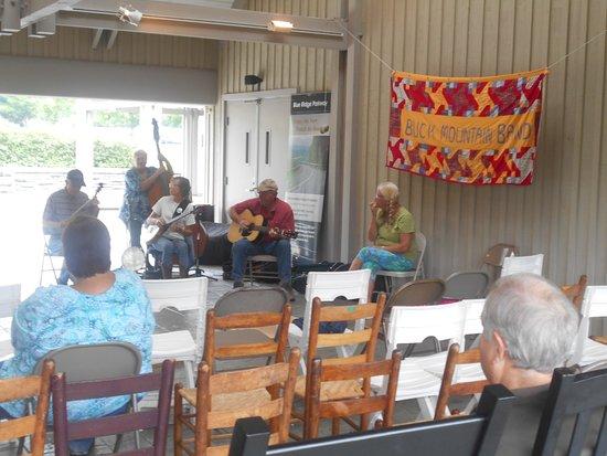 Galax, VA: Blue Grass Band