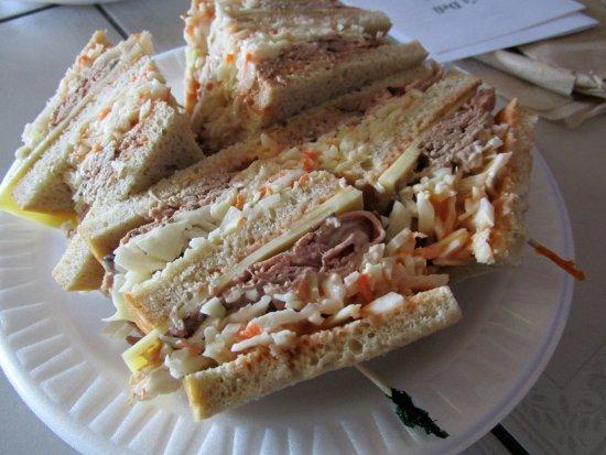Flemington, NJ : Roast Beef Sloppy Joe