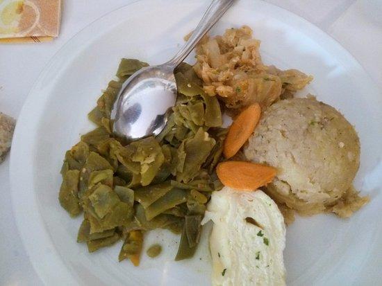 Hrusevje, Slovenia: Verdura cotta mista