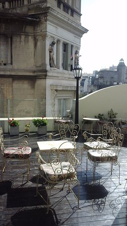 Tango de Mayo Hotel: The Terrace