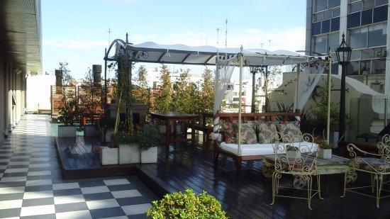 Tango de Mayo Hotel: Terrace