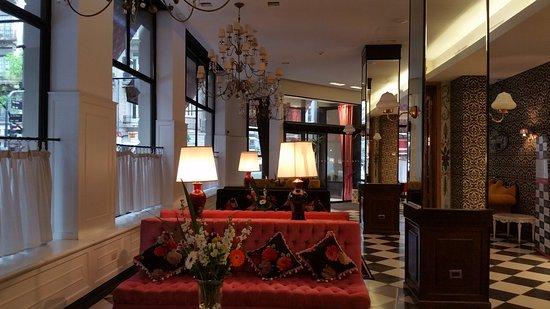 Tango de Mayo Hotel: Lobby