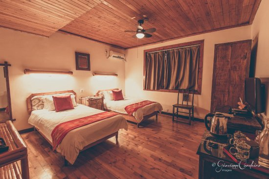 Yangshuo Mountain Retreat: Twin room (with river view)