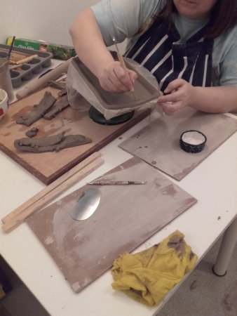 Kiltarlity, UK: Clay workshop