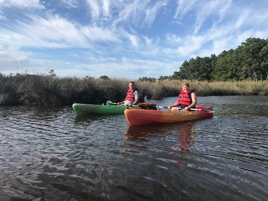 Outer Banks Kayak Adventures: Beautiful, informative tour of Kitty Hawk Woods Maritime Forest