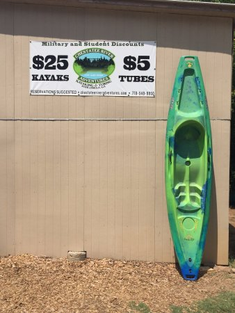 Dahlonega, GA: Our most popular kayak