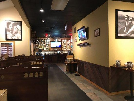 Banner Elk, Karolina Północna: Bar, dining area