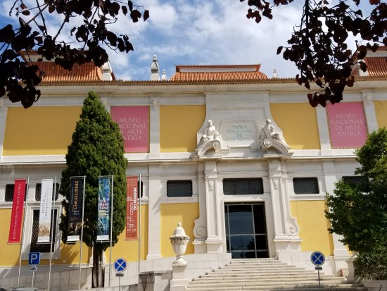 Museu Nacional de Arte Antiga: The SIDE Entrance to The National Museum of Ancient Art