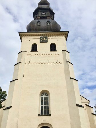 Borlange, Sweden: Stora Tuna church - exterior
