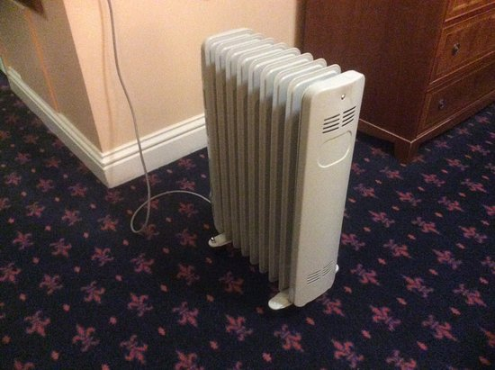 Park House Hotel: This is the heating we got for £147 a night