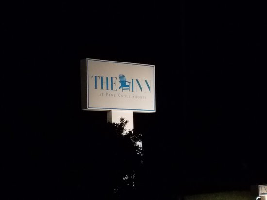 The Inn at Pine Knoll Shores: The Inn at night