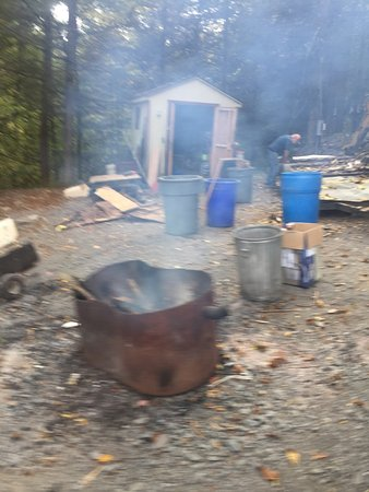 Cranberry Run Campground: Electrical issues, frequent voltage sags which can damage RVs.   Septic issues, backed up and wo