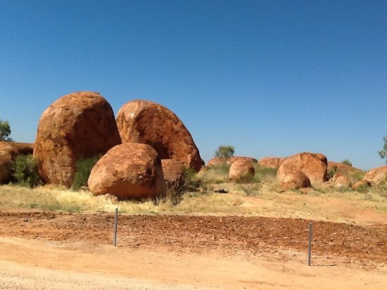 Northern Territory, Australia: The Devil's Marbles.