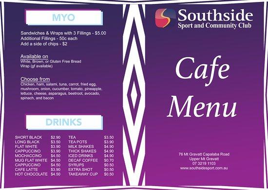 Southside Cafe Brunch Menu