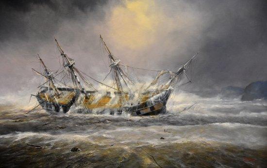 Whitianga, New Zealand: Sinking of HMS Buffalo