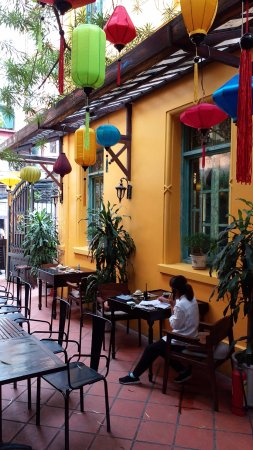 Home Hanoi Restaurant Outdoor Dining Area