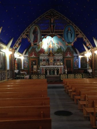 Fort Good Hope, Kanada: Interior of Our Lady of Good Hope Church