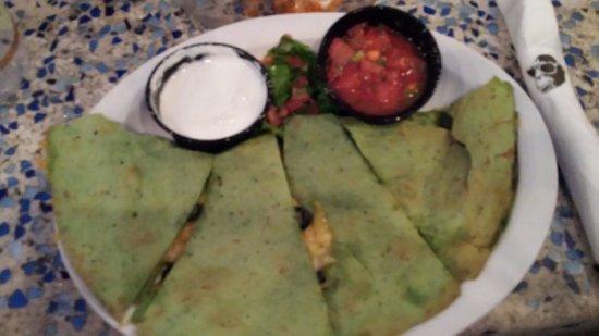 Fager's Island Restaurant & Bar: Vegetable quesadilla, it's OK.