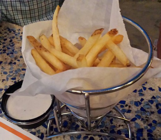 Fager's Island: Side of fries, shoestring style, good.