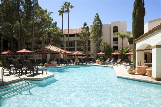 Sheraton Tucson Hotel And Suites Pool Courtyard