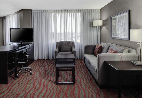 Σεντ Κλάουντ, Μινεσότα: Guest Room Living Area