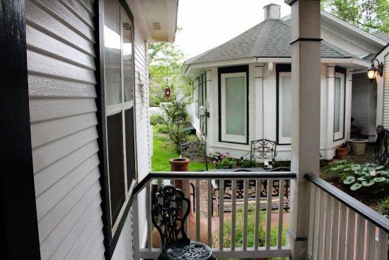 Jefferson, TX: our porch