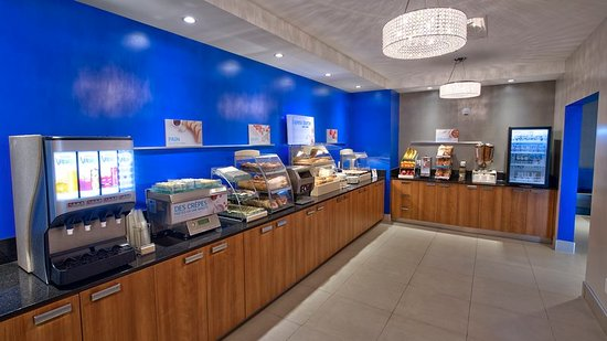 Vaudreuil-Dorion, Canadá: Holiday Inn Express & Suites Vaudreuil - Express Start Breakfast