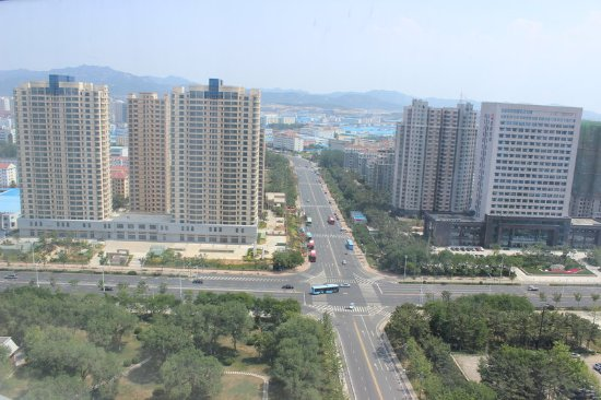 Weihai, China: View from Property