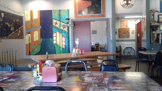 Marshall, TX: Cajun Tex Dining Area