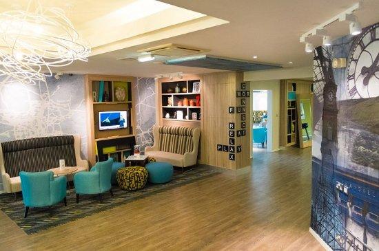 Newton Aycliffe, UK: Lobby Lounge