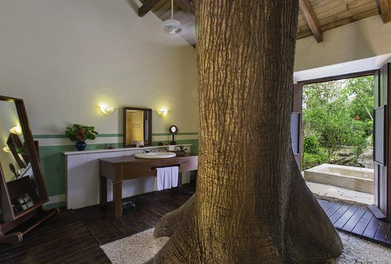 Tixkokob, México: Superior Room Bathroom