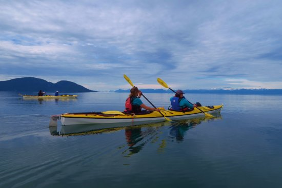 Gustavus, AK: Stunning conditions in Mud Bay