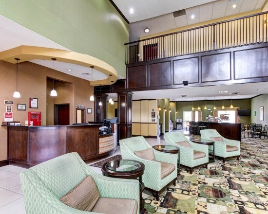 Comfort Suites Waxahachie: Lobby