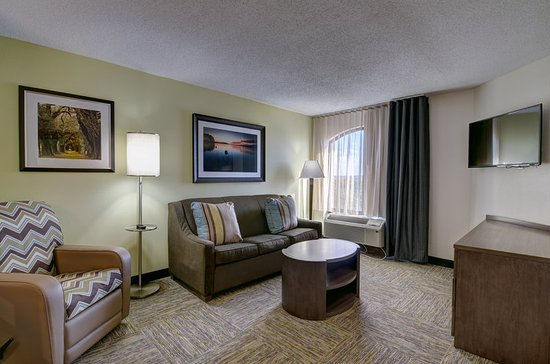 Candlewood Suites Richmond   West Broad: Kick Back And Relax In Your Cozy  Living Room