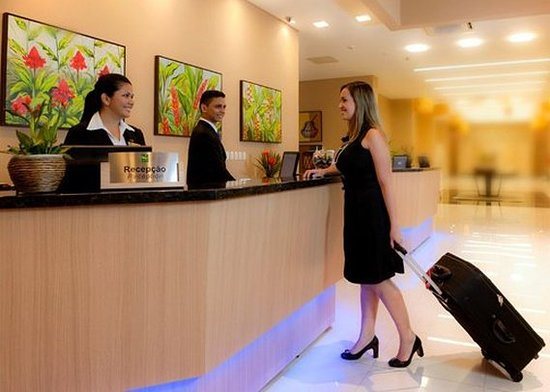Quality Hotel Manaus: Lobby