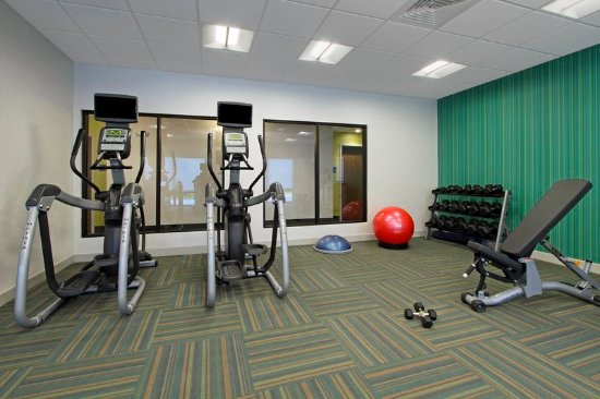 Jasper, AL: 24 hour fitness center with free weights.