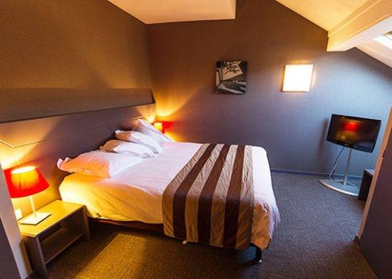 Voglans, Frankrike: Double Room