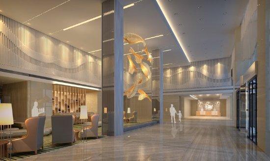 Neijiang, China: Hotel Lobby