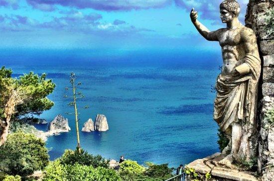 Capri och Anacapri båttur från ...