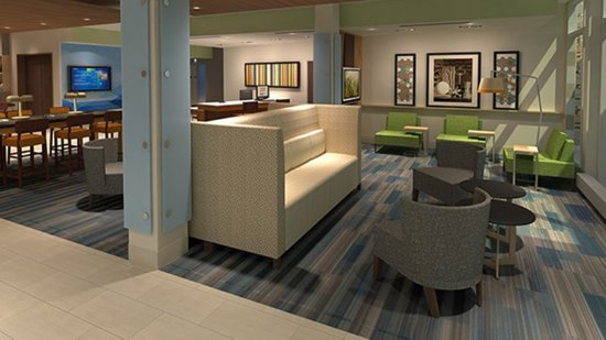 Brookshire, TX: Hotel Lobby