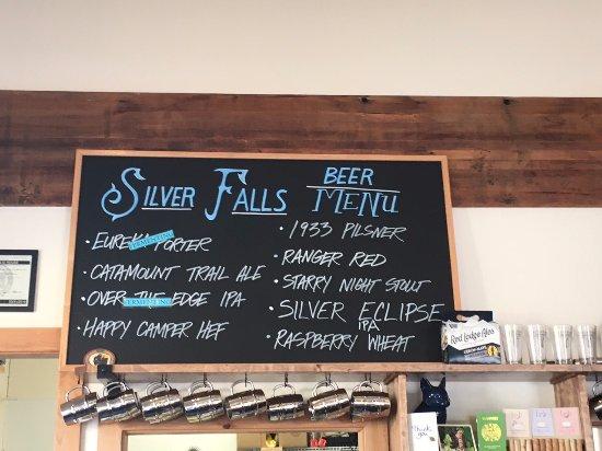 Silverton, OR: Beer Menu