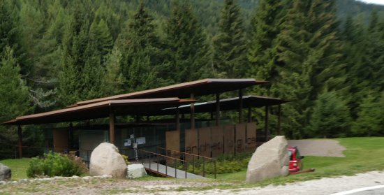 Bedollo, Italie : Gelände am Redebus-Pass