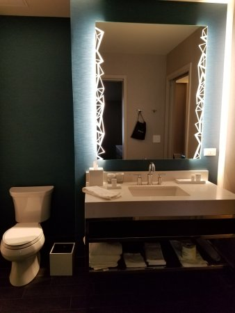 Contemporary Bathroom Vanity Lighting - Picture of Embassy Suites by ...